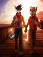 [CM-Collab] Walking in Bathed Light by thanshuhai