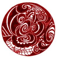 stained tribal circle by jonasfx