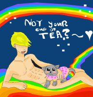 If Ben Gave A Damn Nyan Feat (Nyan CAT) by jacki08