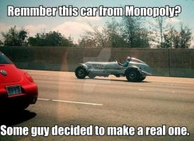 Monopoly Car In Real Life by Hellomon100