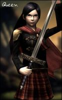 FF Type-0 - Queen by raidergale
