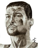 Spartacus - Blood And Sand by thierryart