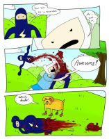 This comic is.... AWESOME by dawgmastas