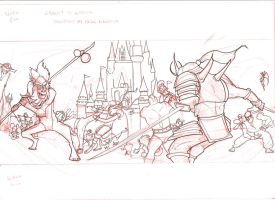 showdown at MK sketch by C-CLANCY