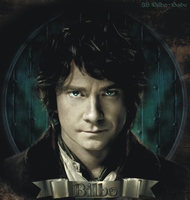 Bilbo Baggins Wallpaper by LadyCyrenius