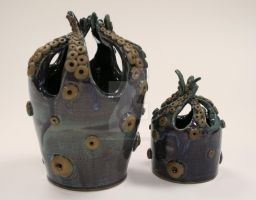Octopus Vases by ChristinaRoth333