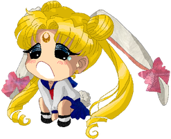 Civ Mini art - Usagi Tsukino by JATGProductions