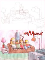 The Minions by sequentialartist