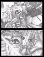 GG and EVE.3 Illustrations 3 by PurpleRAGE9205