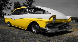 Fast Ford in Yellow by tundra-timmy