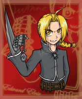 Edward Elric :3 by Luifex