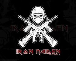 Iron Maiden Wallpaper by Hellknight10