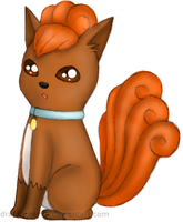 AT: Vulpix by CyanoDrake