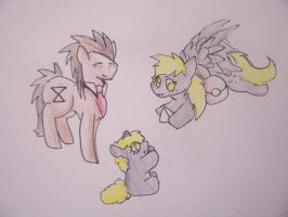 the derpy family by angelstar000