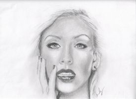 Christina Aguilera by candysamuels