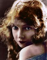 Lillian Gish Colorization by FireNRocks