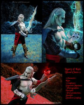 Kain cosplay from Legacy of Kain: Blood Omen 2 by Daelyth