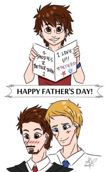 Superfamily Father's Day by Fayolinn