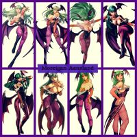 Morrigan Aensland: Deadly Succubus by TheOrderOfNightmare