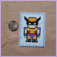 Little Bookmark Wolverine by saliadeesse