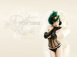 Dita Von Teese wallpaper 2 by AdrienneTyler