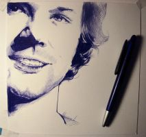 Ballpoint Jared - Size by kleinmeli