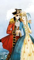 Prize - The lady and the pirate by YuriOokino