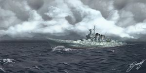 Heavy Cruiser by Helgezone