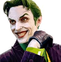 Harly's Joker Vector Portrait by complecontra
