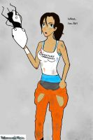 Chell is Fit! by MurasakiRein