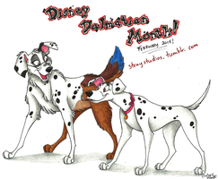 Disney Dalmatian Month by Stray-Sketches