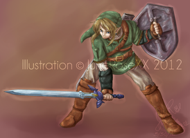 FullBody Commission - Twilight Princess Link by JuneRoseXX
