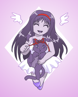 Wings and a Kitty by ErinPtah