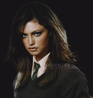 Phoebe Tonkin as Slytherin by N0xentra