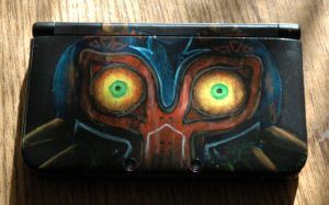 Customization - Majora's Mask 3DS XL by Shalie