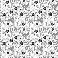 Modern Floral Chintz STOCK by GT-stock