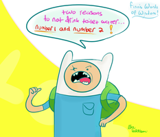 Finn's words of wisdom! by Akhutchison