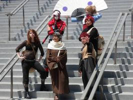 Anime Expo Naruto Gathering 3 by DelphiniumFleur