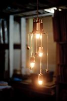 Holy Cow upcycled chandelier by herywalery