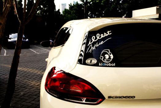 VW Scirocco by MRAFPhotoworks