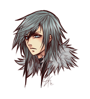 .: Lice Final Fantasy stylized -:. by dNiseb