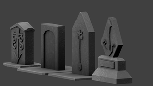 Tombstones by betasector