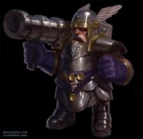 bazooka dwarf by texahol