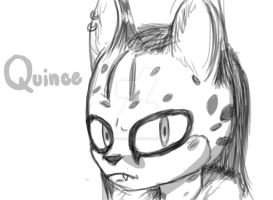 Quince the Serval by OctoberReign