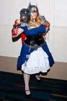 Female Thor Cosplay by swampfoxinsc