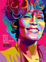 WPAP Witney Houston by wedhahai