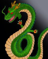 Shenlong Colored by johannes111