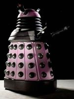 The Only Pink Dalek by Tespeon