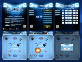 Flash mini-game interface by Vadich