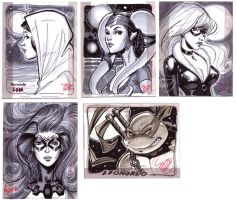 sketch cards for sale by MichaelDooney